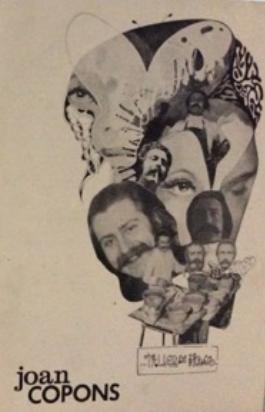 Portada d'un catàleg d'una de les exposicions de Joan Copons a Taller de Picasso