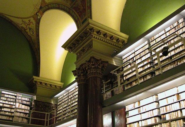 Interior de la Biblioteca Augusta